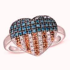 heart flag ring enhanced