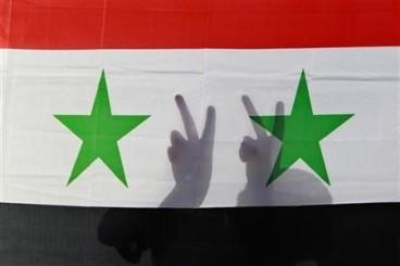 Peace Syrian flag